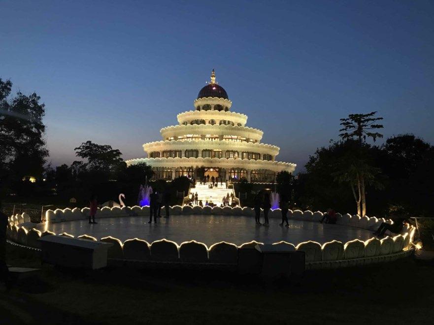 Vishalakshi-Mantap-art-of-living-evening